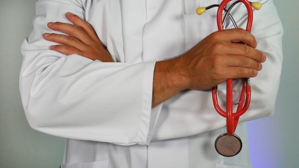 doctor with good MCAT score