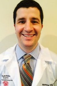 Internal Medicine co-chair - Dr. Matthew Hogan